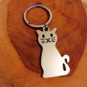 sleutelhanger, kat