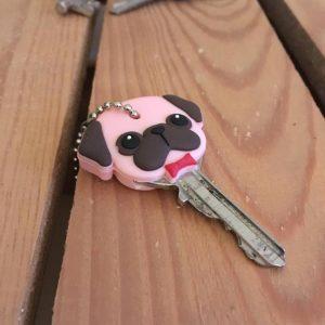sleutelhoesje, hond